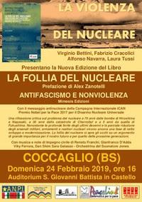 """Nuova Edizione Mimesis Libro """"La follia del nucleare. Come uscirne con la Rete ICAN"""""""