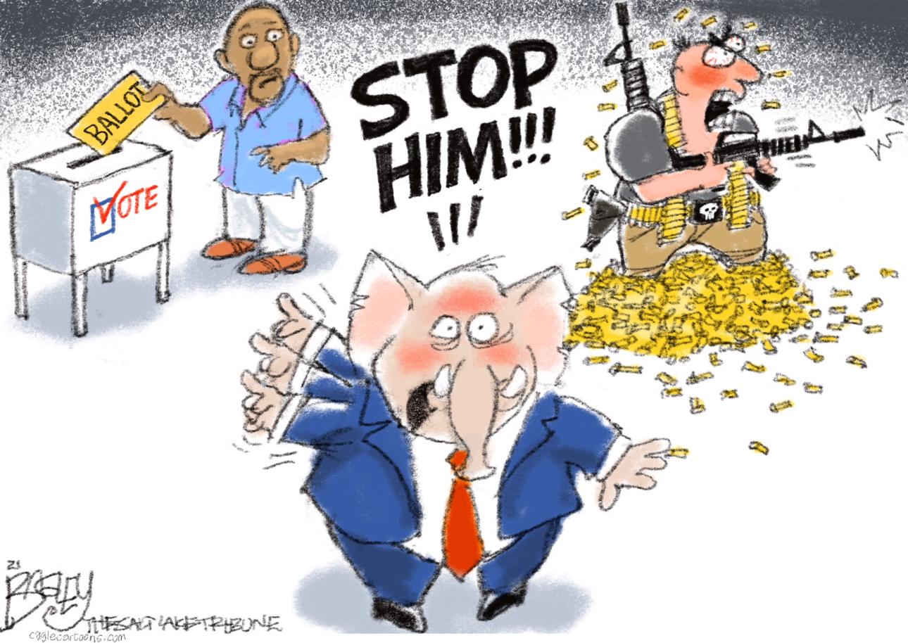 GOP, REPUBLICANS, VOTING, RACISM, RACIST, LIES, BLM, ELECTIONS, BIG LIE