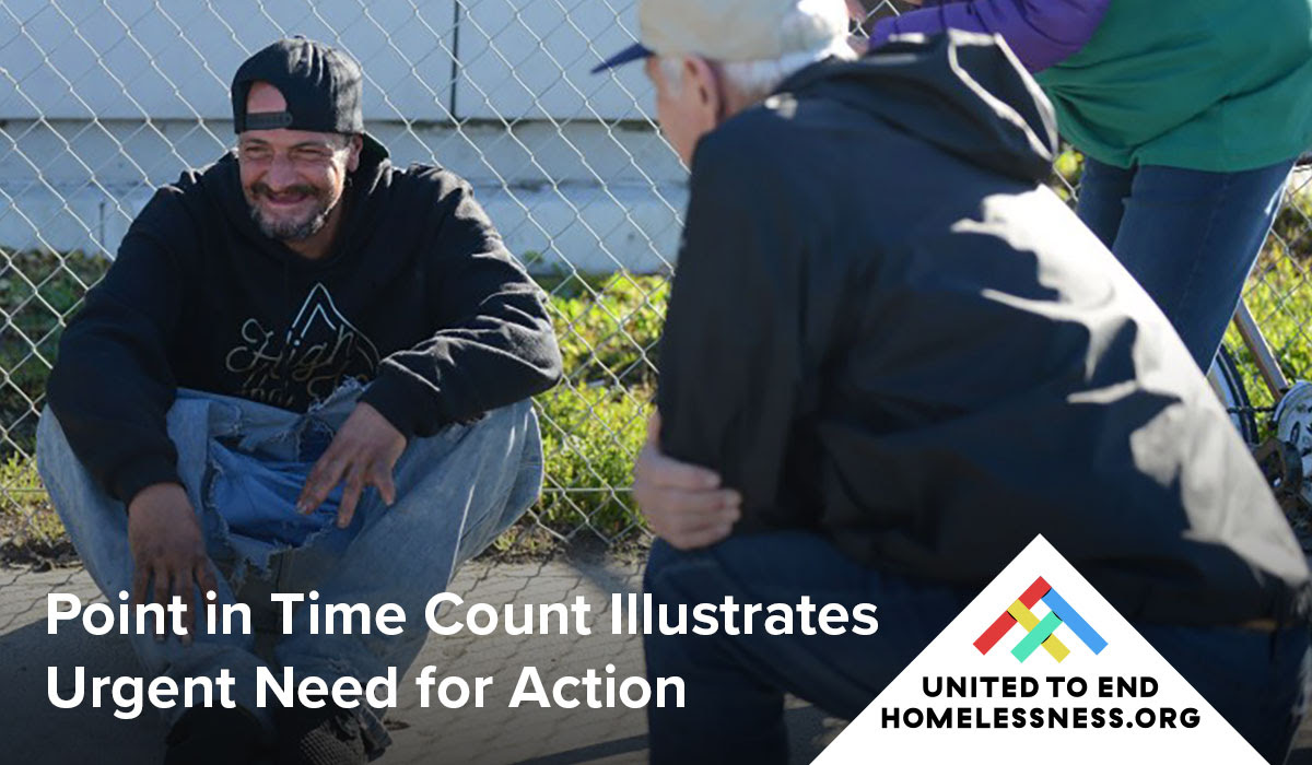 Point in Time Count Illustrates Urgent Need for Action