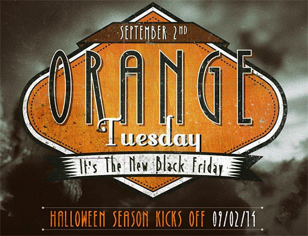 Orange Tuesday at BuyCostumes.com