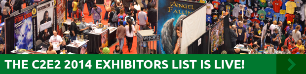 The C2E2 2014 Exhibitor List is Live!