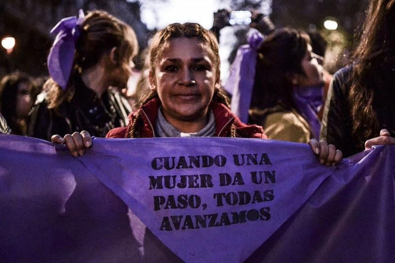 <p>Manifestación contra la violencia machista #Niunamenosen Buenos Aires,el pasado 3 de junio de 2017.</p>