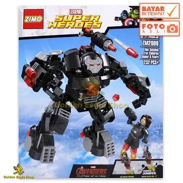 Mainan Anak - ZIMO - Lego Avengers Super Heroes