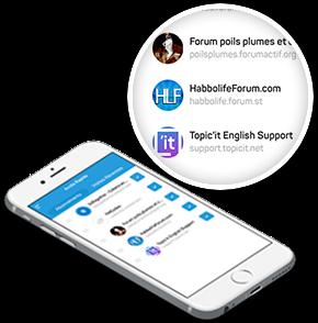 Find forums