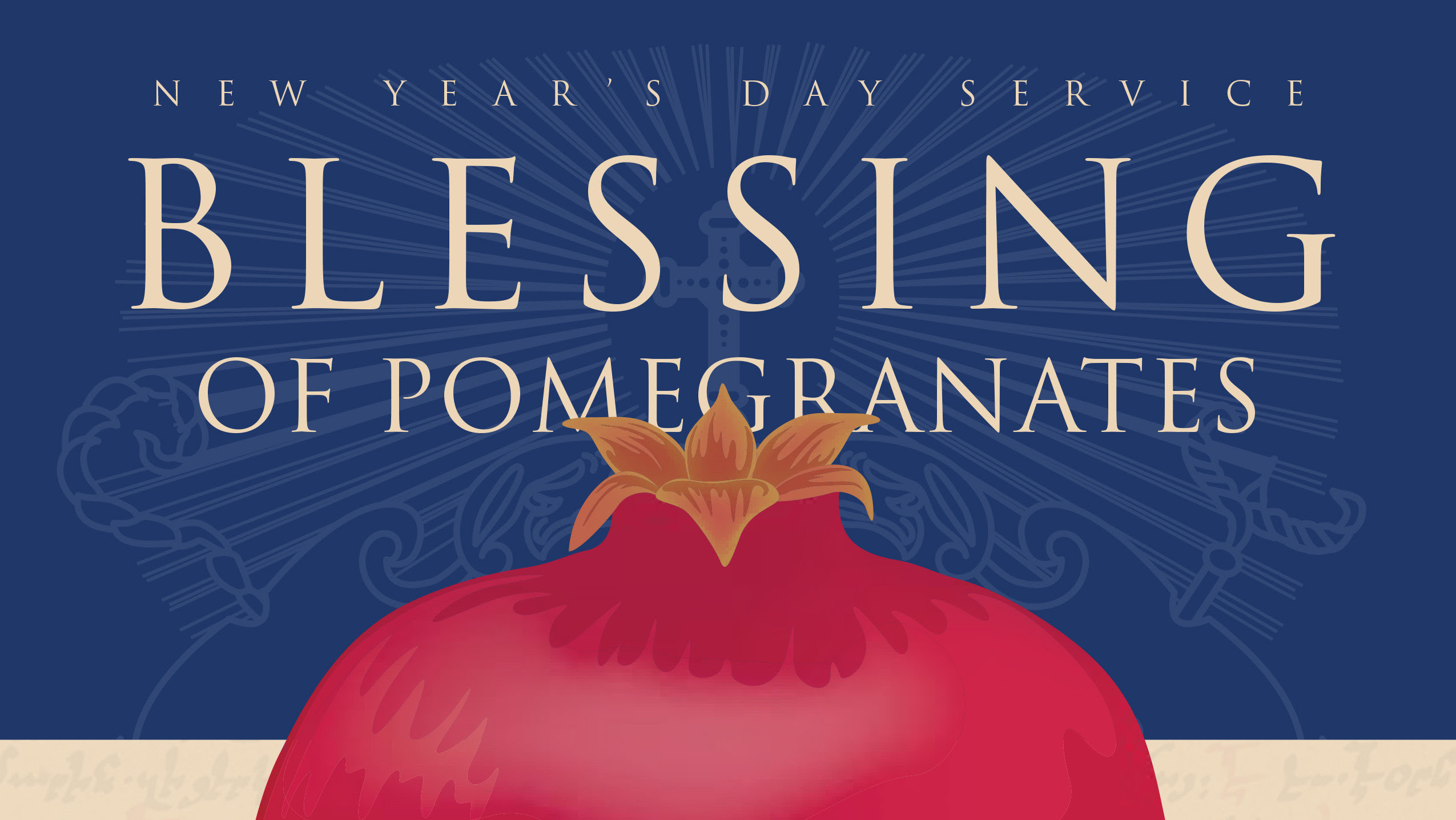 Blessing of Pomegranates