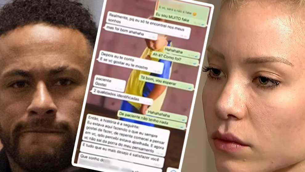 WhatsApp Conversations Between Neymar And Rape Accuser Najila Trindade Released [Screenshots]