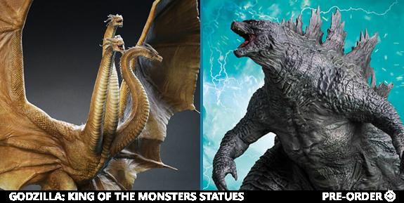 Godzilla Statues