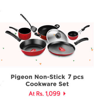 Pigeon Non-Stick Grand 6 pcs 5 layer Cookware Set