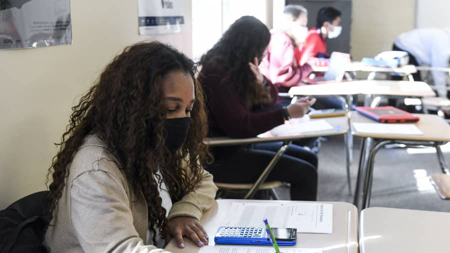 The CDC revised its social distancing guidelines for students in school