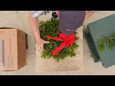 What is a Veterans' Wreath? | Wreaths Across America Veterans' Wreaths