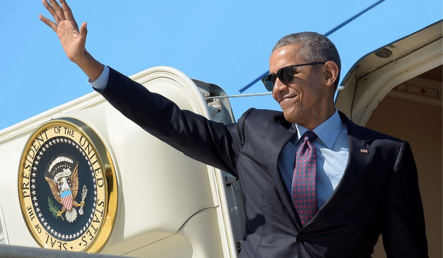The Final Obama Travel Tab on Air Force One Reaches $100 million