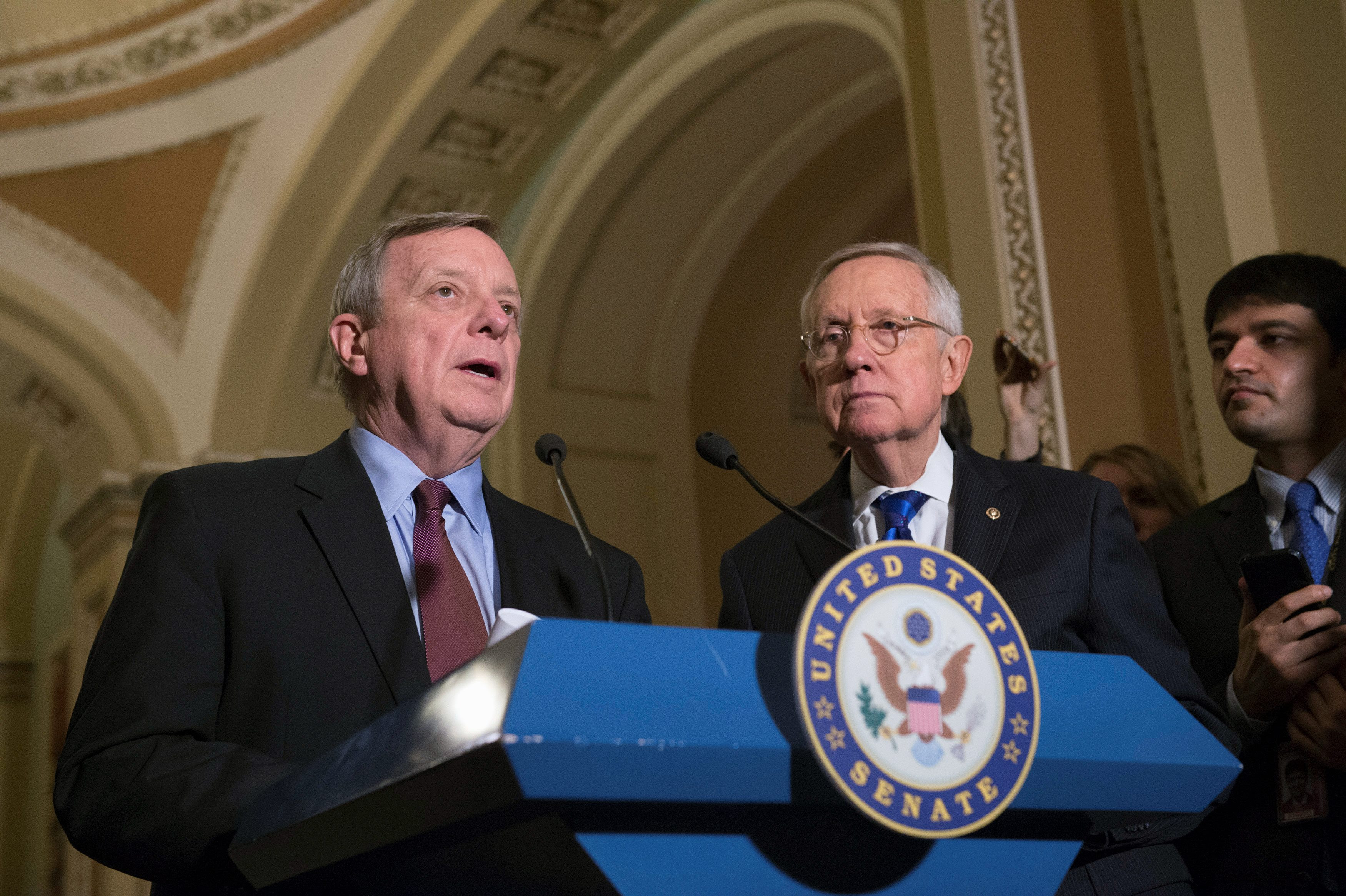 Durbin to Senate Republicans: 'Let's sit down together' on ObamaCare Overhaul