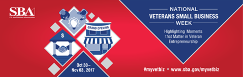 National Veterans Small Business Week 2017