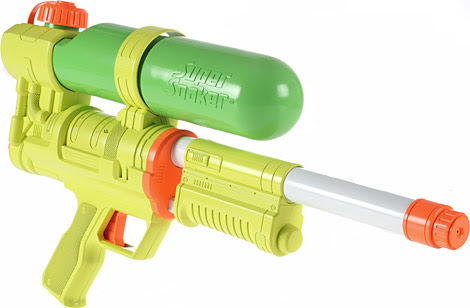 toys from the 90s - super soaker