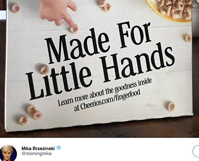 Mika Tweet to Trump