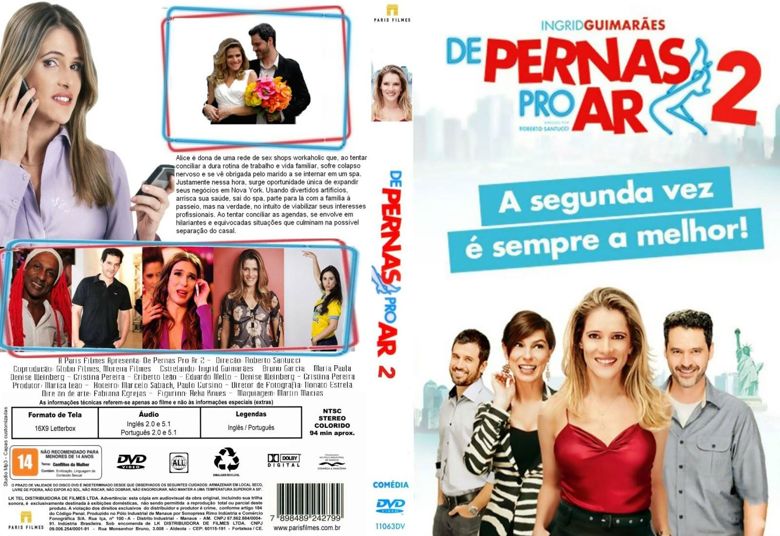 D5fs6ZL De Pernas Pro Ar 2 Torrent   DVDRip Nacional (2012)