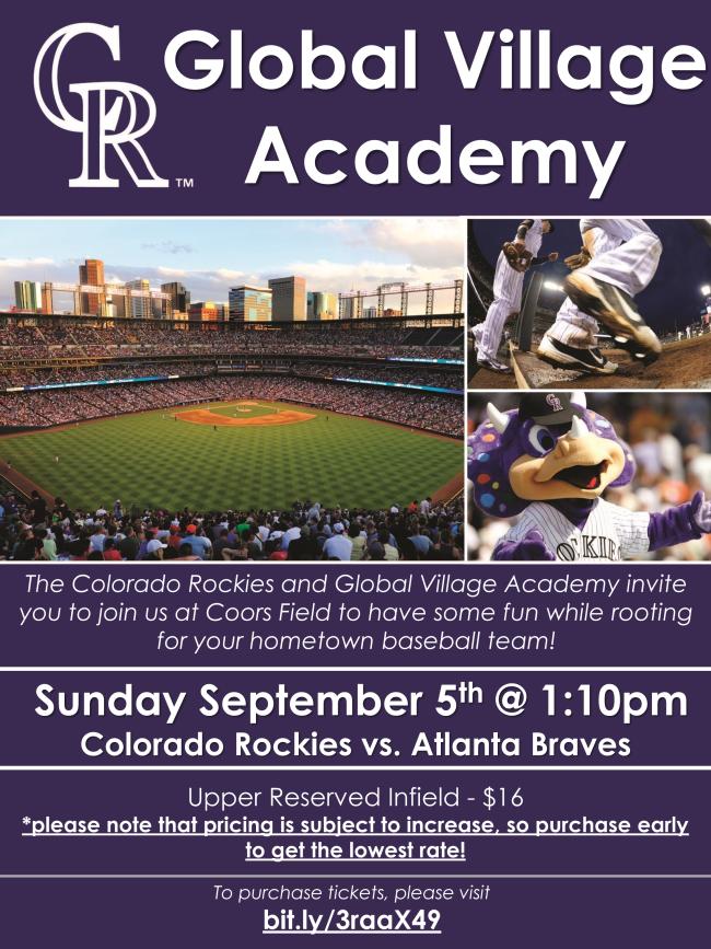 colorado rockies flyer for september 5