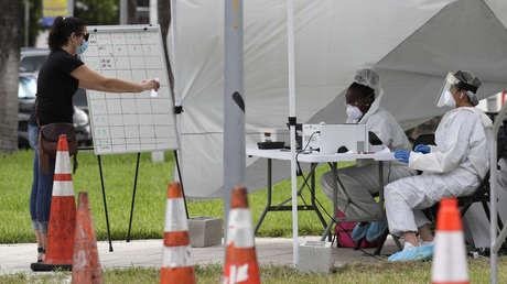 EE.UU. sigue batiendo récords de contagios de coronavirus: 77.638 nuevos casos en las últimas 24 horas