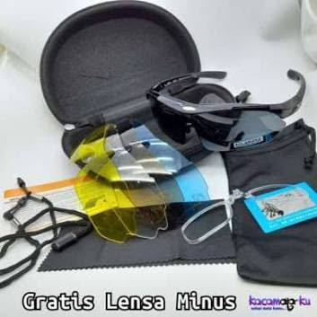 Kacamata Olahraga Sepeda Gowes Sporty Racetrap Speed (Kode 001)