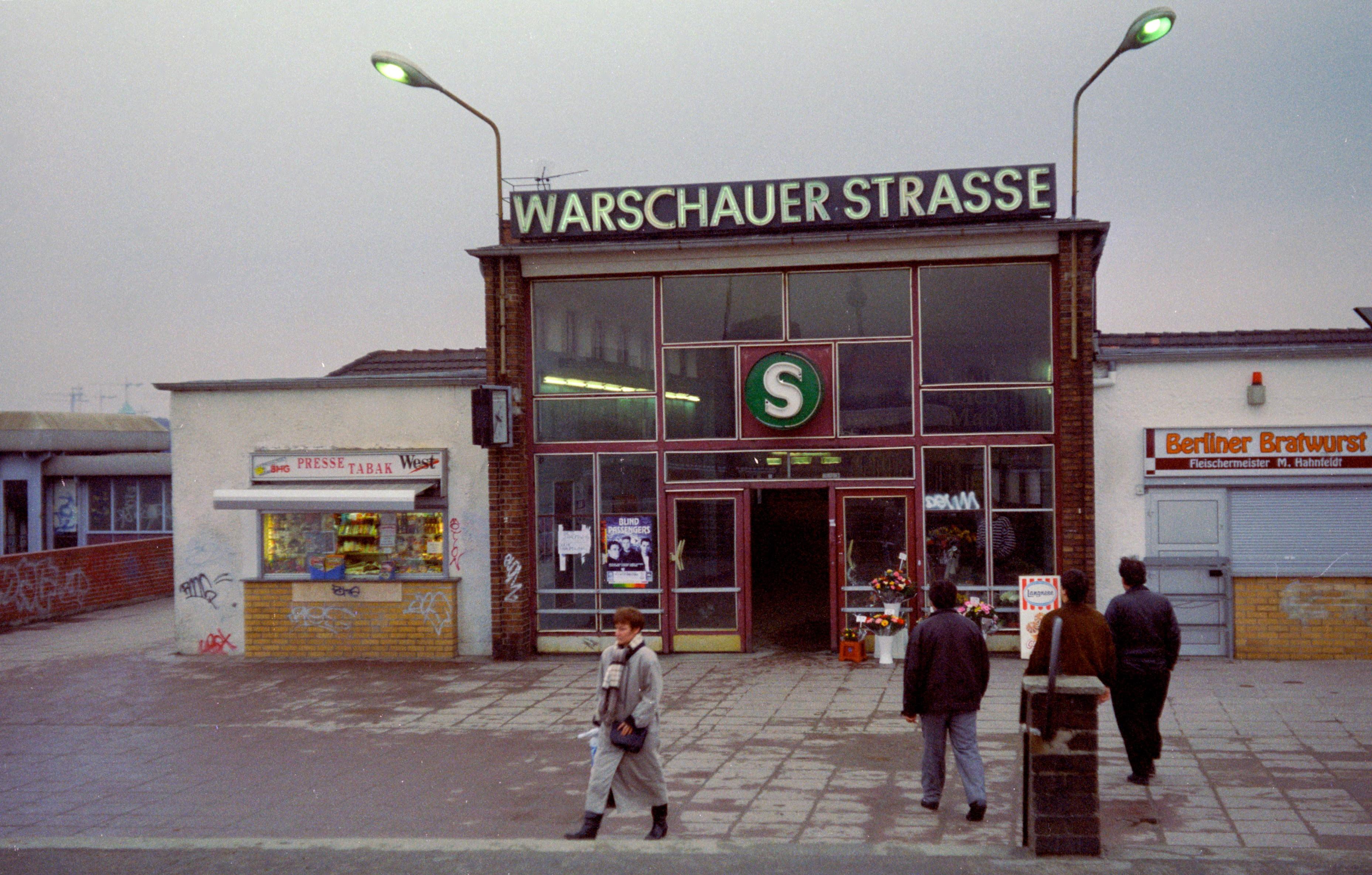 Estacion de Warschauer  en 1994