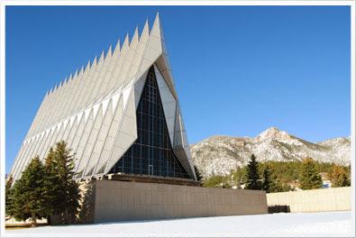 USAFA Cadet Chapel 2013