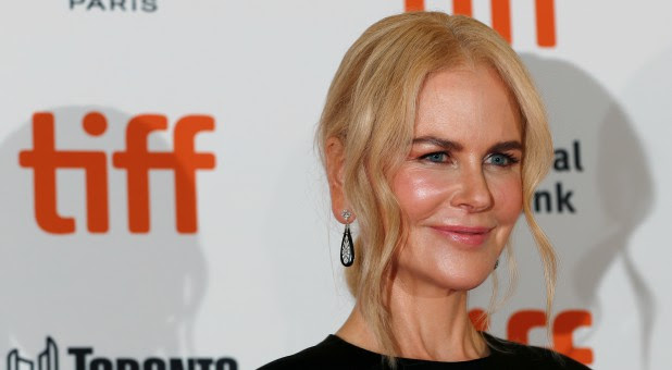 Actor Nicole Kidman arrives for the premiere of the movie