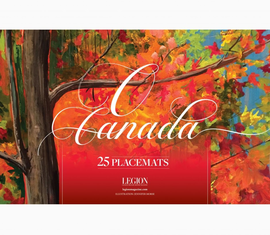 O Canada Placemats