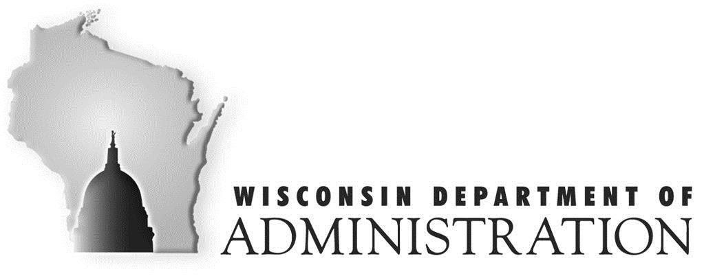 Wisconsin Department of Administration Letterhead