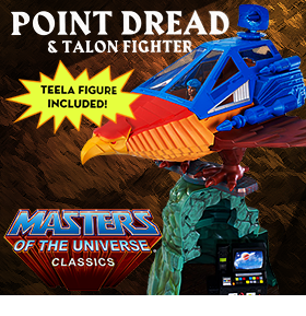 MOTU CLASSICS POINT DREAD & TALON FIGHTER