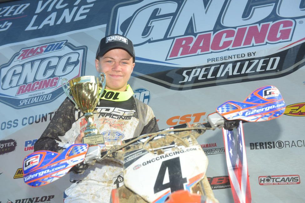 Joseph Cunningham came away with his third-straight youth overall win.