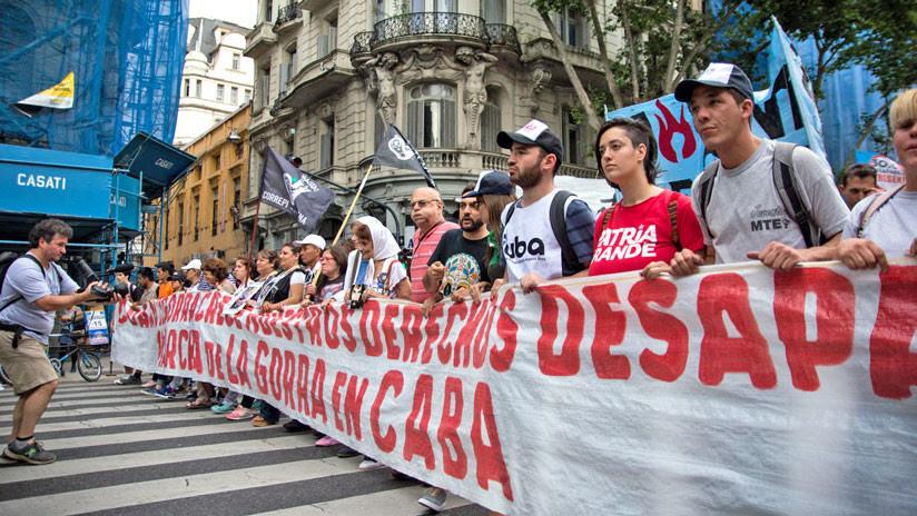 """Marcha de la Gorra en Argentina para """"levantarse y decir basta"""" a la violencia policial"""