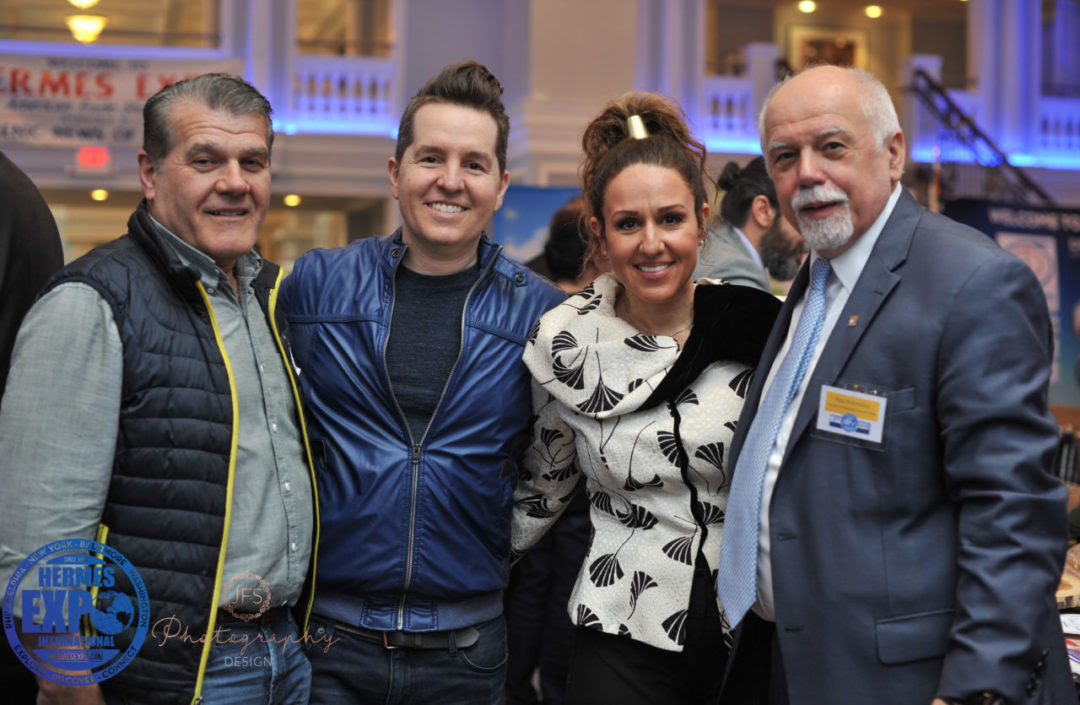 Chris-Nikolos-George-Tsouris-Vasiliki-Tsouris-and-Paul-Kotrotsios-at-the-Hermes-Expo-1080x705