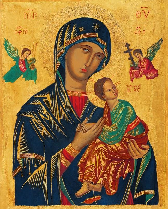 Znalezione obrazy dla zapytania matki bożej nieustającej pomocy