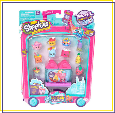 Shopkins Boarding To Europe 12 Pack