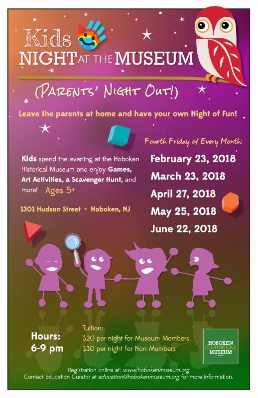 Kids Night poster