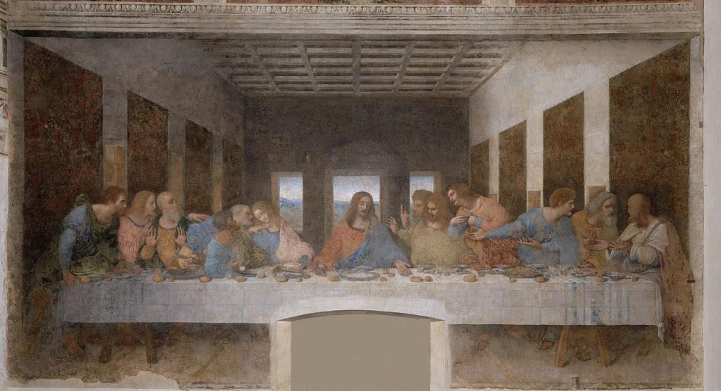 Most Famous Paintings: The Last Supper, by Leonardo da Vinci