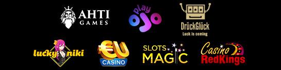 EUcasino SlotsMagic CasinoRedKings DrueckGlueck