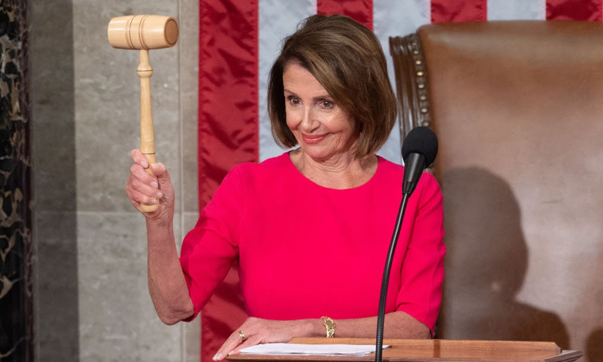 Pelosi's critics totally wimped out at the last second