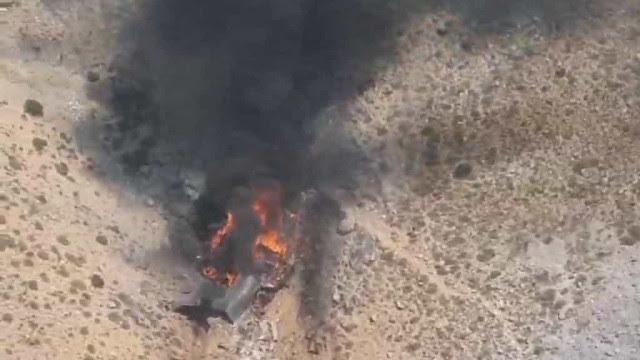 As imagens do avião russo que caiu na Turquia combatendo incêndios
