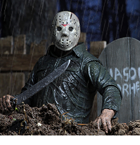 FRIDAY THE 13TH PART 5 ULTIMATE JASON FIGURE