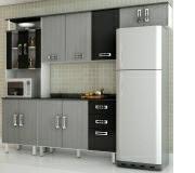 Cozinha Compacta Suiça 3 Peças Poliman