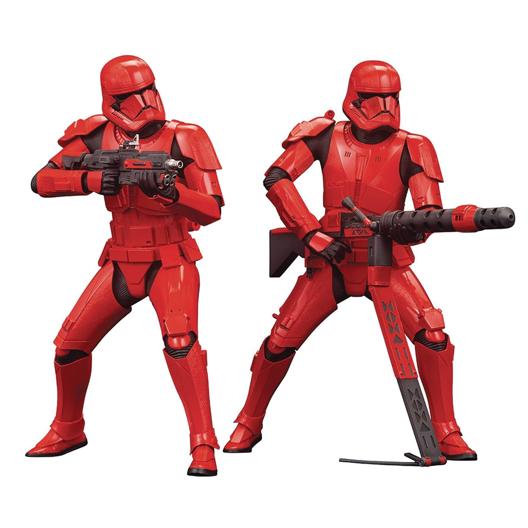 Image of Star Wars ArtFX+ Sith Trooper Statue Two-Pack (The Rise of Skywalker) - DECEMBER 2019