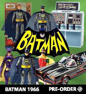 MATTEL BATMAN CLASSIC 1966 FIGURES