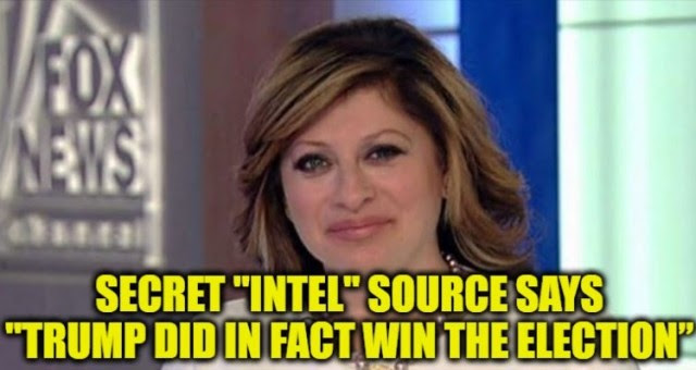 """BREAKING VIDEO: Maria Bartiromo's Secret """"Intel"""" Source Says """"Trump Did In Fact Win The Election""""- Reveals THIS Scotus Bombshell"""