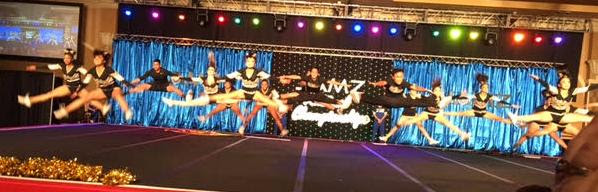 Jamz National Cheerleading competition