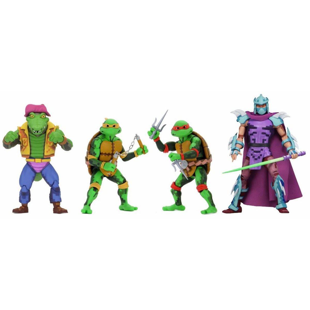 Image of TMNT Turtles in Time Series 2 - Set of 4