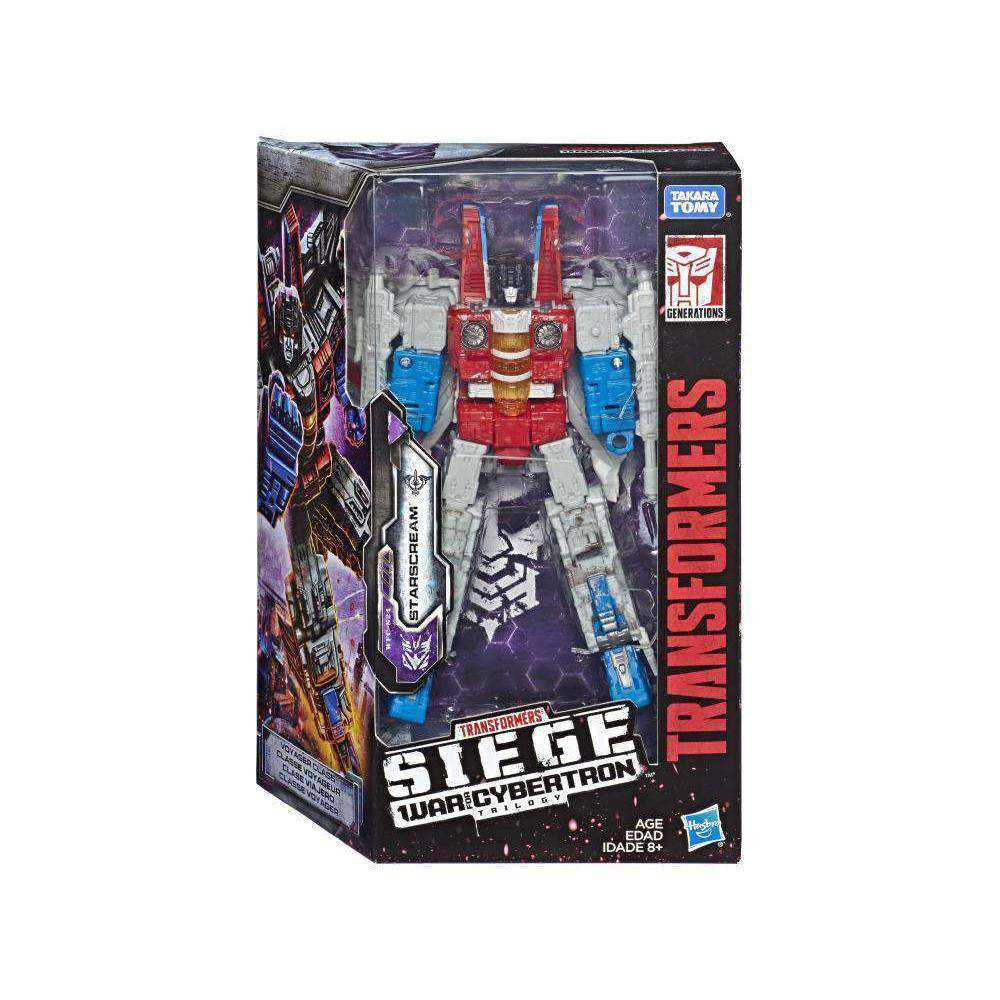 Image of Transformers War for Cybertron: Siege Voyager Wave 2 - Starscream