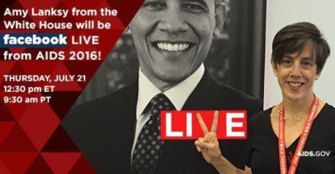 Image of Dr. Amy Lanksy for AIDS.gov Facebook Live session