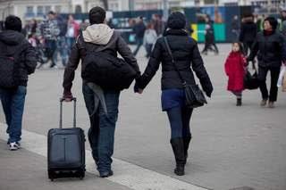 Toeristen in Nederland