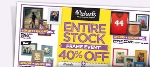 ENTIRE STOCK FRAME EVENT 40% OFF